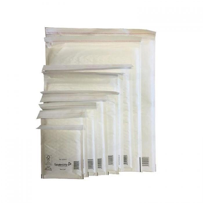 Почтовый пакет с воздушной подушкой MAIL LITE D/1, 180*260 мм белый - фото 5633