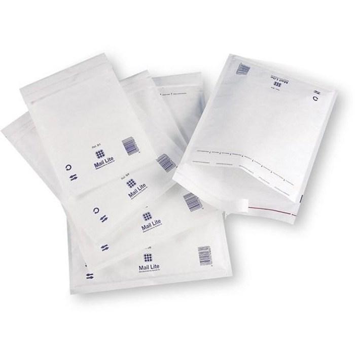 Почтовый пакет с воздушной подушкой MAIL LITE D/1, 180*260 мм белый - фото 5635