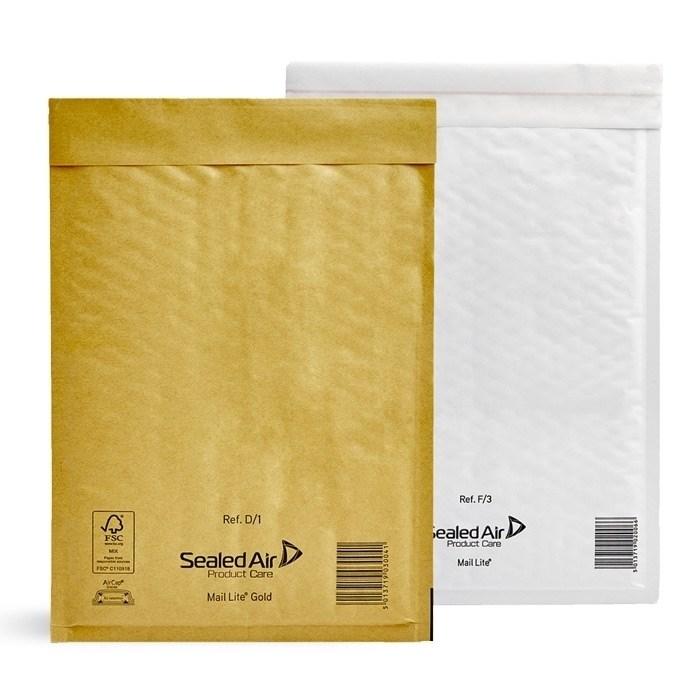 Почтовый пакет с воздушной подушкой MAIL LITE D/1, 180*260 мм белый - фото 5636