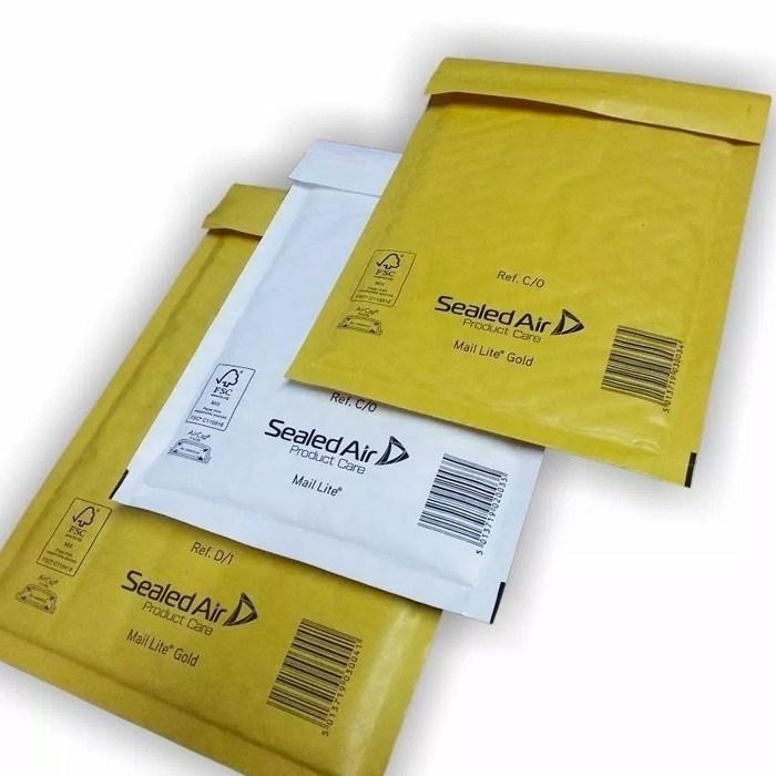 Почтовый пакет с воздушной подушкой MAIL LITE D/1, 180*260 мм белый - фото 5638