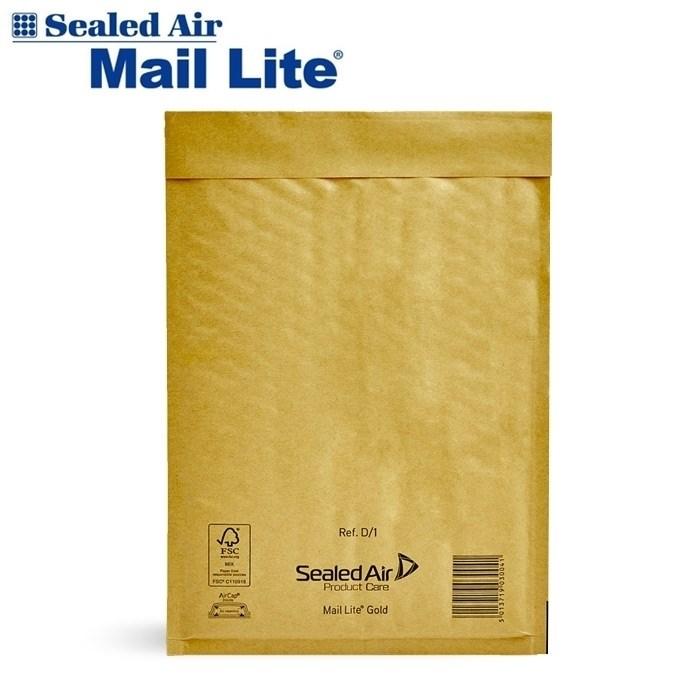 Почтовый крафт-пакет с воздушной подушкой MAIL LITE D/1, 180*260 мм - фото 5641
