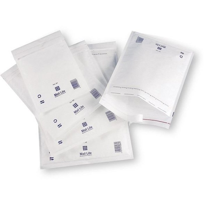 Почтовый пакет с воздушной подушкой MAIL LITE E/2, 220*260 мм белый - фото 5647