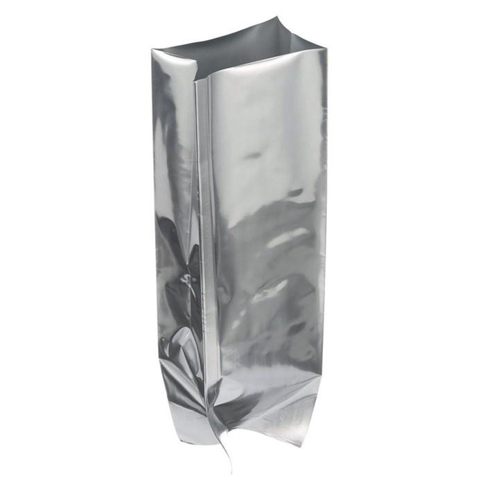 Пакет с центральным швом 100*40*250 мм фольгированный двухшовный - фото 5730