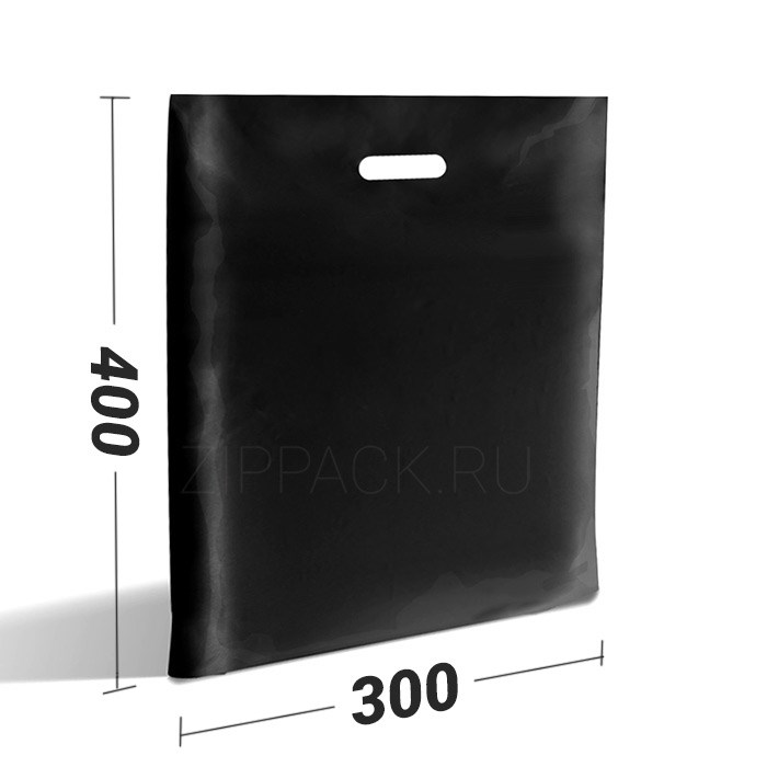 Пакет черный полиэтиленовый с вырубной ручкой купить ткань кулирка что из нее шьют
