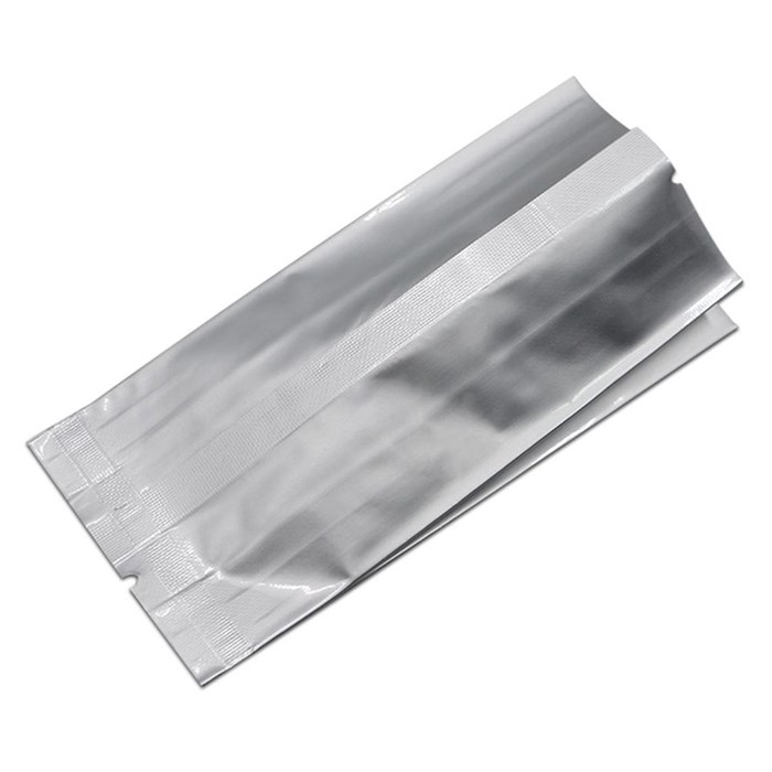 Пакет с центральным швом 100*40*250 мм фольгированный двухшовный - фото 5728