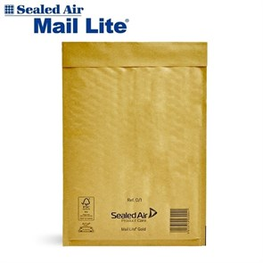 Почтовый крафт-пакет с воздушной подушкой MAIL LITE D/1, 180*260 мм