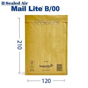 Почтовый крафт-пакет с воздушной подушкой MAIL LITE B/00, 120*210 мм