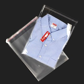 Пакет полипропиленовый 15*20 см с клеевым клапаном   PP 30 мк   отверстие для воздуха