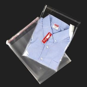 Пакет полипропиленовый 20*25 см с клеевым клапаном   PP 30 мк   отверстие для воздуха