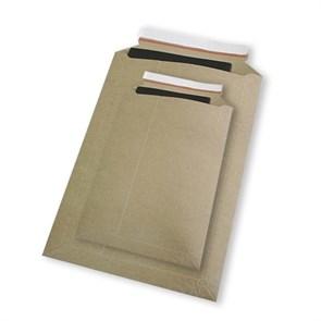 Картонный пакет 295x375 мм | Картон крафт 400г., отрывная лента