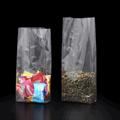 Прозрачный пакет 80*40*180 мм с центральным швом и боковыми фальцами - фото 5210