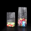 Прозрачный пакет 85*60*200 мм с центральным швом и боковыми фальцами - фото 5217