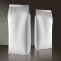 Белый пакет 120*70*350 мм с центральным швом и боковыми фальцами - фото 5328